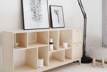 Plywood furniture PREGLEJKA