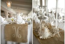 Beach Wedding Decorations / Samples of decorating ideas from real beach weddings in the Crystal Coast region of NC including Emerald Isle, Atlantic Beach, Morehead City, Beaufort, Jacksonville, Pine Knoll Shores, Salter Path, and New Bern.