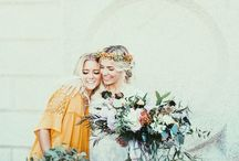 y e l l o w  w e d d i n g s / a collection of swoon-worthy weddings with yellow color palettes.