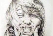Portrait Artworks / Love these artworks