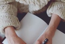 Journaling / Writing out thoughts and life planning