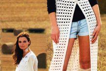 crochet waistcoat