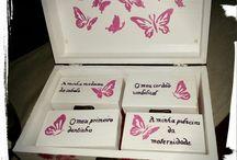 caixas de recordações