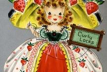 Vintage Hallmark Girls Collection