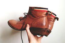 på leting etter sko
