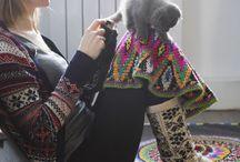 Crochet  dress .