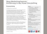 #Workshops / Trainings / Seminare Visual Storytelling / 7PointStory: Unsere Trainings, Workshops und Seminare!