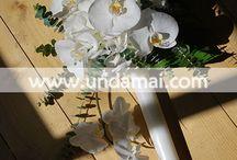 LUMANARI pentru NUNTA/ CUNUNIE / Combinatii de flori delicate si pastelate sau elegante, dupa preferinte