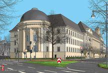 Krefeld 2017 / Neue Illustrationen Krefelder Bauwerke von Frät