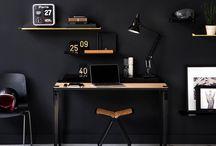 NOIR - BLACK HOME / La sobriété du noir apporte une touche d'élégance instantanée à votre décoration. Le noir, qu'il soit sur les murs, en objets d'Art ou du quotidien, en intérieur comme en extérieur, permet de structurer afin que chaque élément trouve sa place.