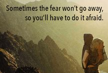 Overcoming fear inspirational quotes