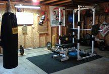 Shed gym inspiration
