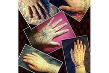 Samoan traditional hand tattoos