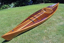 Kayak design wood