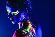 Neon City Lights / Great psycho art