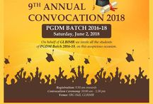 """The end of the endings are the best time to begin! The stage is set for """"Convocation - 2018"""""""