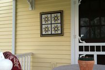 """Barn Quilts - Tell Your Story / The perfect addition to """"Tell Your Story"""" on your house, barn, even your garage."""