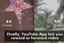 Finally, YouTube App lets you rewind or forward video