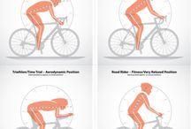 Sports bike geometry, physics, bio