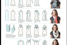 Style; Scarf tying tips