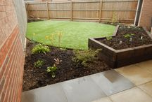 Artificial Grass gardens we created / Gardens we have created and used artificial grass.