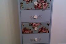 Decoupage furniture / Decoupage on furniture  / by Site of the decoupage fans DCPG.ru