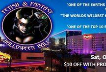 Vegas Halloween with iPartyinVegas / Vegas Halloween Parties! / by Stacia iPartyinVegas