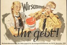 W.W.II AXIS POSTERS AND PROPAGANDA OF NAZI GERMANY / by Carl Andrew Horn
