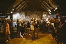 Sparklers at weddings / Sparkler wedding reception farewells. Sparkler photos at weddings.