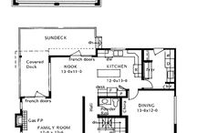 Slope up house plan