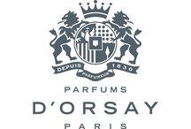 D' Orsay / Парфюмерный дом D'orsay, основанный в 1830 году, предлагает новый взгляд на классические французские ароматы. это смешение традиционных и современных методов создания парфюма. Парфюмерия D'orsay - это элегантность, хороший аристократический вкус и традиции.