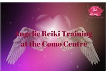 Angelic Reiki / Angelic Reiki is a gentle, yet powerful, healing therapy as we work with the Angels, Ascended Masters and others. We offer regular Angelic Reiki Practitioner and Angelic Reiki Master training courses at the Como Centre.