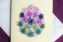 Easter / Easter ornaments, motives, cards