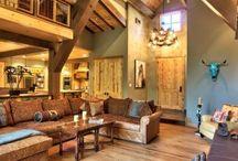 20 Rustic Interior Wall Design Ideas / 20 Rustic Interior Wall Design Ideas