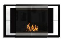 Wall Mounted Bio Ethanol Fireplaces / Clean burning and environmentally friendly fireplaces designed to be hung onto or recessed into the wall. No smoke. No odor. No soot. No hassle.