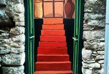 Doors n walls painted by Kiliaris Babis / Artistic painting on doos, walls and other art