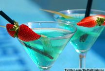 Blue Lagoon Mocktail Party / Turn on your party mood and enjoy awesome and refreshing mocktail varieties with your entire family!!