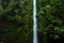 Waterfall in East Lombok / Waterfall in East Lombok, Indonesia.