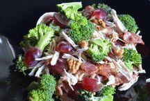 овощи капуста брокколи салат