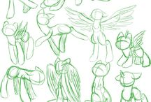 Pony poses