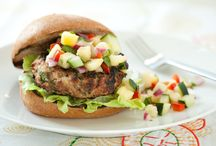 Burgers and Sandwiches / Healthy burger and sandwich ideas