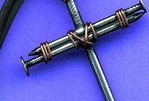 Nail cross craft