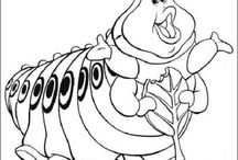 Bugs life coloring book / Bugs life coloring pages