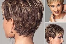 short haircuts for older woman