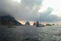 Capri from the sea...