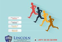 Four Steps to Set Goal + Rock Your Career, visit us https://www.lincoln-edu.ae