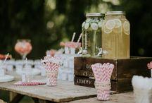 GARDEN PARTY / Inspirations pour réaliser une garden party pour votre mariage