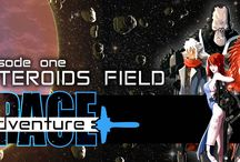 Space Adventure / Live an space adventure!. Pilot your starfighter and overcome multiple challenges!