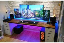 Desk setups