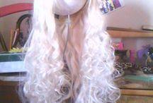 Arreglando pelucas / fotos de las editadas d pelucas que eh hecho.